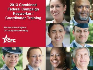 2013 Combined Federal Campaign Keyworker  / Coordinator Training
