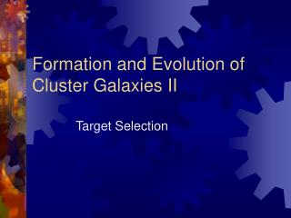 Formation and Evolution of Cluster Galaxies II