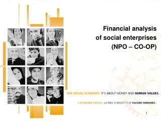 Financial analysis  of social enterprises  (NPO – CO-OP)
