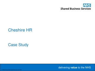 Cheshire HR Case Study