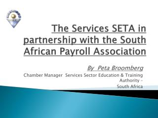 The Services SETA in partnership with the South African Payroll Association