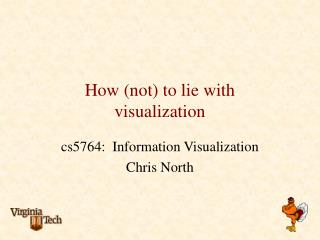 How (not) to lie with  visualization