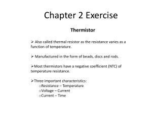 Chapter 2 Exercise