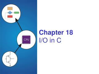 Chapter 18 I/O in C