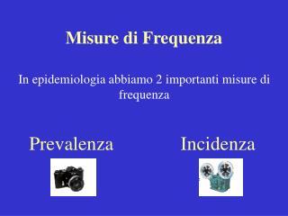 Misure di Frequenza