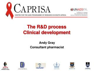 The R&D process Clinical development