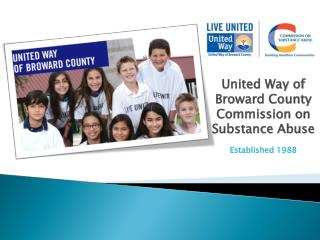 United Way of Broward County Commission on Substance Abuse