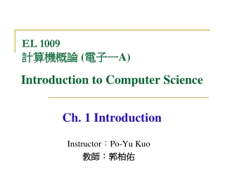 Chapter 8 Introduction to Turing Machines part a