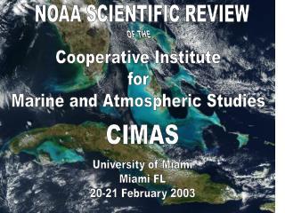 NOAA SCIENTIFIC REVIEW