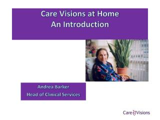 Care Visions at  Home An Introduction