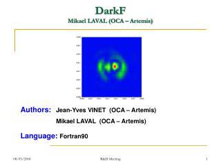 DarkF Mikael LAVAL (OCA – Artemis)