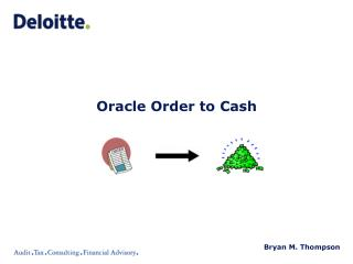Oracle Order to Cash