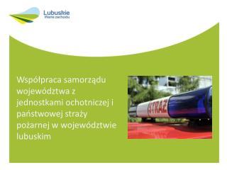Inwestycje dofinansowane ze środków LRPO