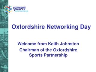 Oxfordshire Networking Day