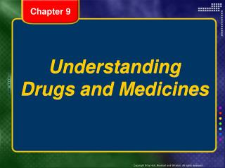 Understanding Drugs and Medicines