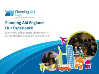 Planning Aid England Our Experience