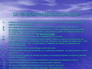 DE TENSIÒN EN ESTRUCTURA RS30