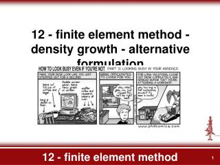 12 - finite element method