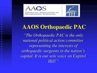 AAOS Orthopaedic PAC