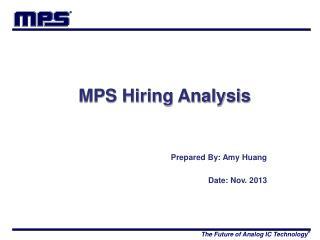 MPS Hiring Analysis