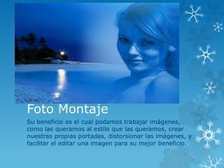 Foto Montaje
