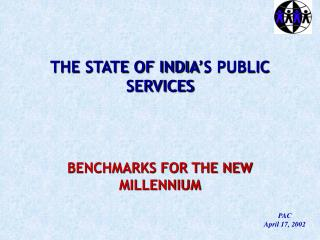 THE STATE OF INDIA'S PUBLIC SERVICES
