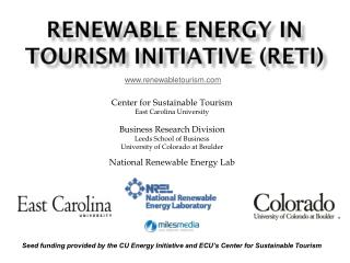 Renewable Energy in  Tourism Initiative (RETI)