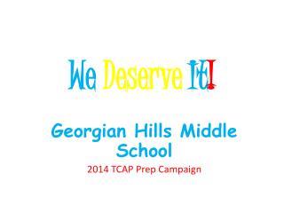 We Deserve It !