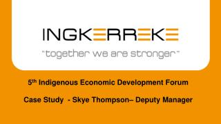 Case Study  - Skye Thompson– Deputy Manager