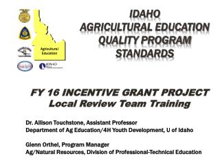 Idaho  agricultural education quality program standards