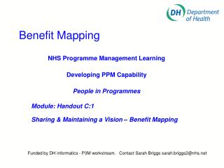 Benefit Mapping