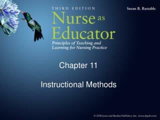 Chapter 11  Instructional Methods