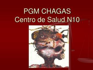 PGM CHAGAS Centro de Salud N10