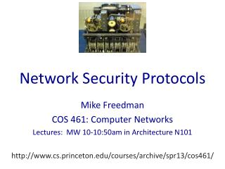 Network Security Protocols