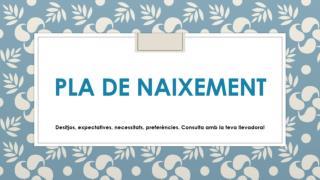 PLA DE NAIXEMENT