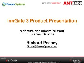 InnGate 3 Product Presentation