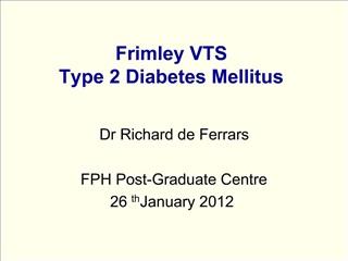 Frimley VTS Type 2 Diabetes Mellitus