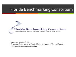 Florida Benchmarking Consortium