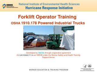 Forklift Operator Training OSHA  1910.178 Powered Industrial Trucks