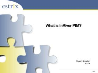 What is InRiver PIM?