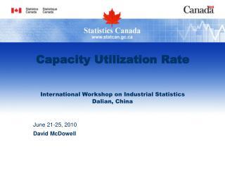 Capacity Utilization Rate