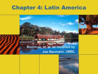 Chapter 4: Latin America