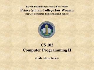 Riyadh Philanthropic Society For Science Prince Sultan College For Woman