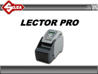 LECTOR PRO
