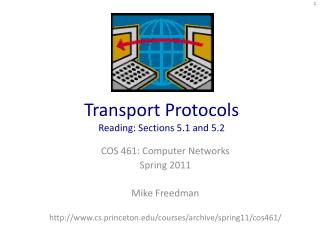 Transport Protocols Reading: Sections 5.1 and 5.2