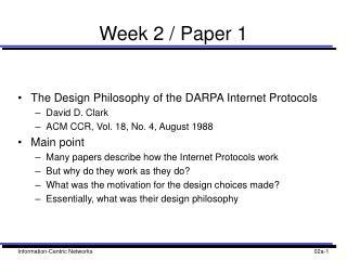 Week 2 / Paper 1
