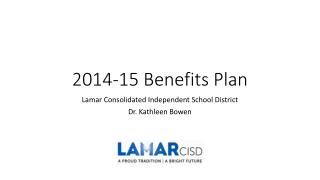 2014-15 Benefits Plan