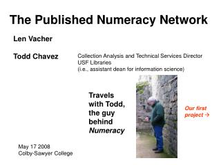 The Published Numeracy Network