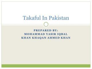 Takaful In Pakistan