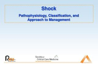 Shock Pathophysiology, Classification, and Approach to Management